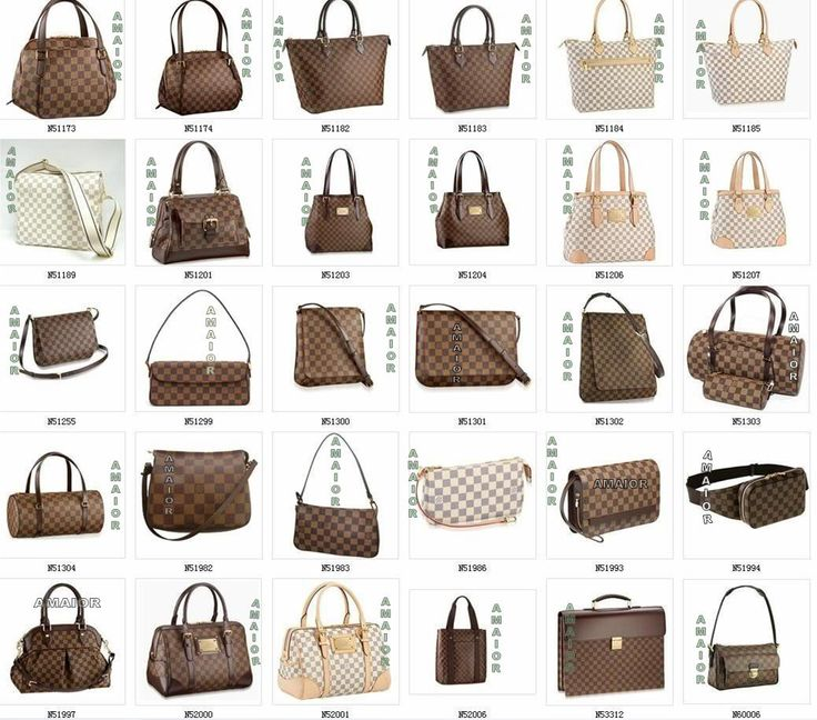types of louis vuitton bags