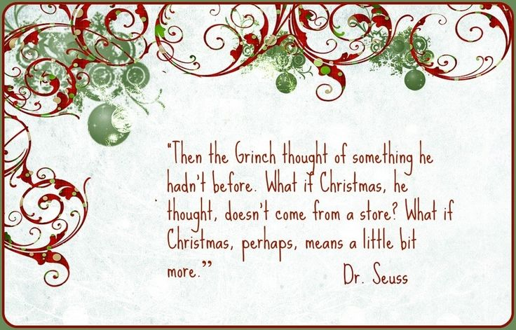 Pretty Dr Seuss Christmas Quote Best Christmas Moment