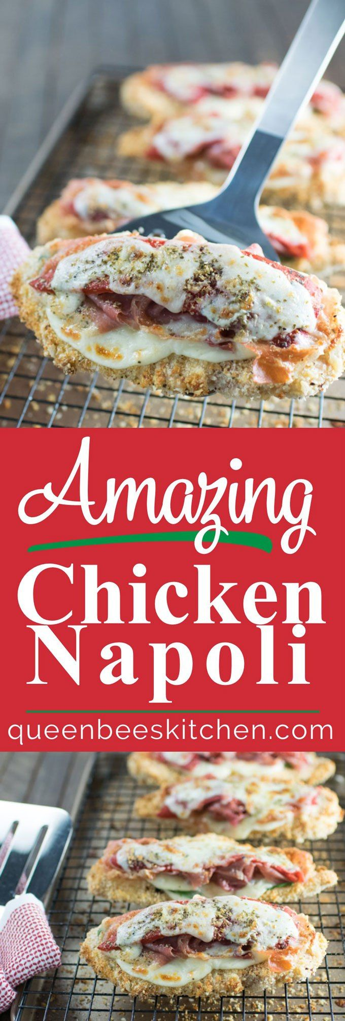 Delicious and easy to make Chicken Napoli - Amazing!!