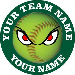 Customized Softball Logo 06                              …