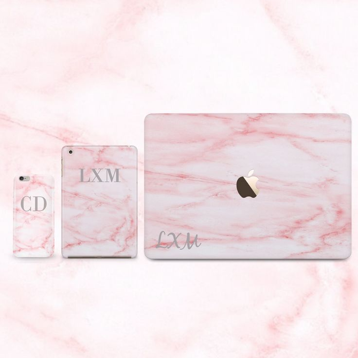 Personalised matching Cotton Candy marble initial cases. phone✖️iPad✖️MacBook cases all available  www.livexmaintain.com