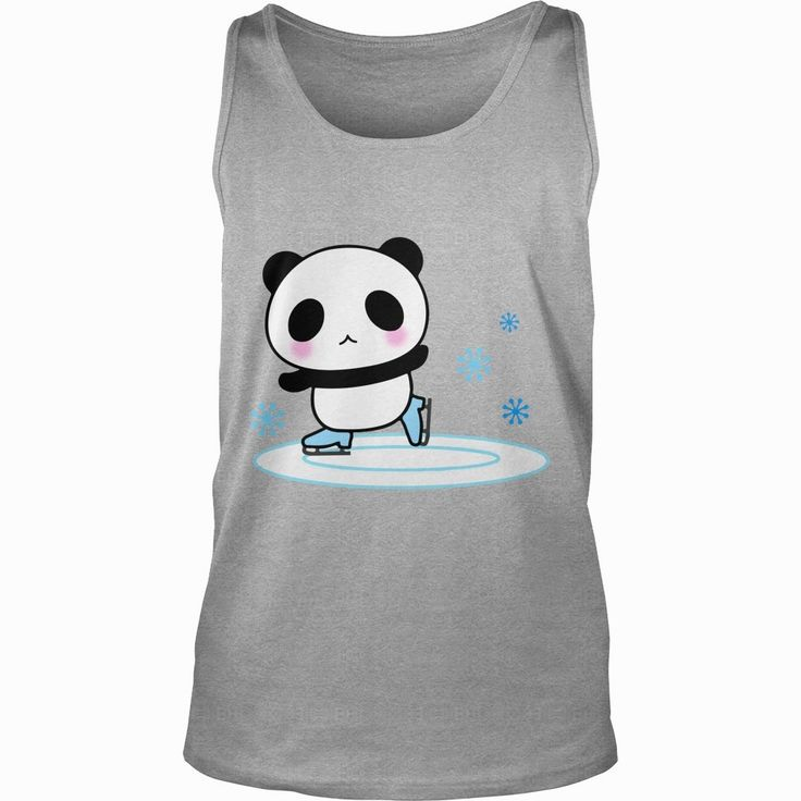 Panda Ice Skate Cute Blush Emoji Face Happy Gift Tee T-Shirt, Order HERE ==> https://www.sunfrog.com/LifeStyle/115168744-460797403.html?9410, Please tag & share with your friends who would love it, #renegadelife #jeepsafari #birthdaygifts
