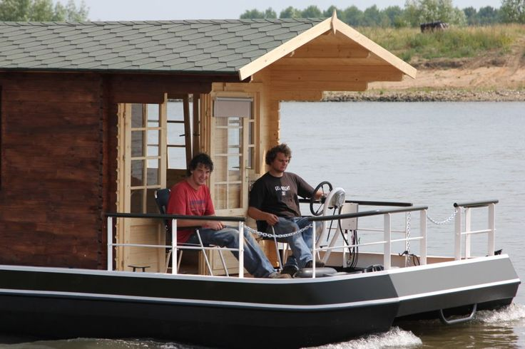 17 Best images about My houseboat on Pinterest   Boat plans, House design and Prefab homes