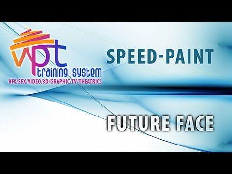 SpeedPaint - Future face - YouTube