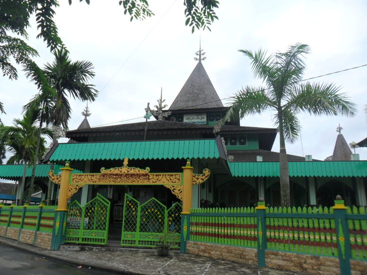 Masjid Sultan Suriansyah Kalimantan Selatan