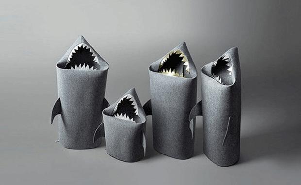Der hai-ßeste Wäschekorb der Welt