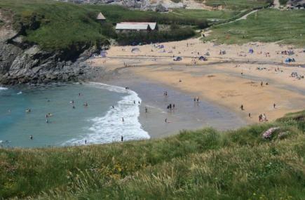 Our beach of the week is Gunwalloe Church Cove Beach on the Lizard. Have you been here before?