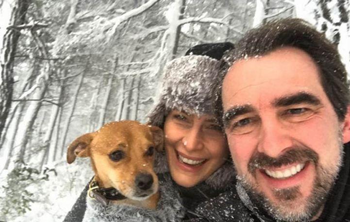 Νικόλαος-Τατιάνα Μπλάτνικ: Αποδράση στη χιονισμένη Βοστώνη