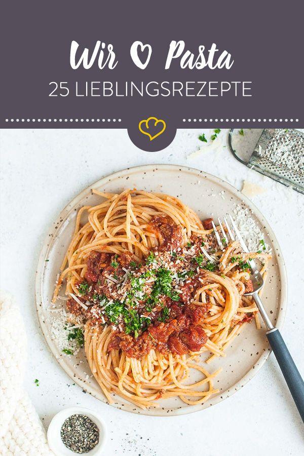 Die Lieblingspasta unserer Blogger – die 25 besten Rezepte