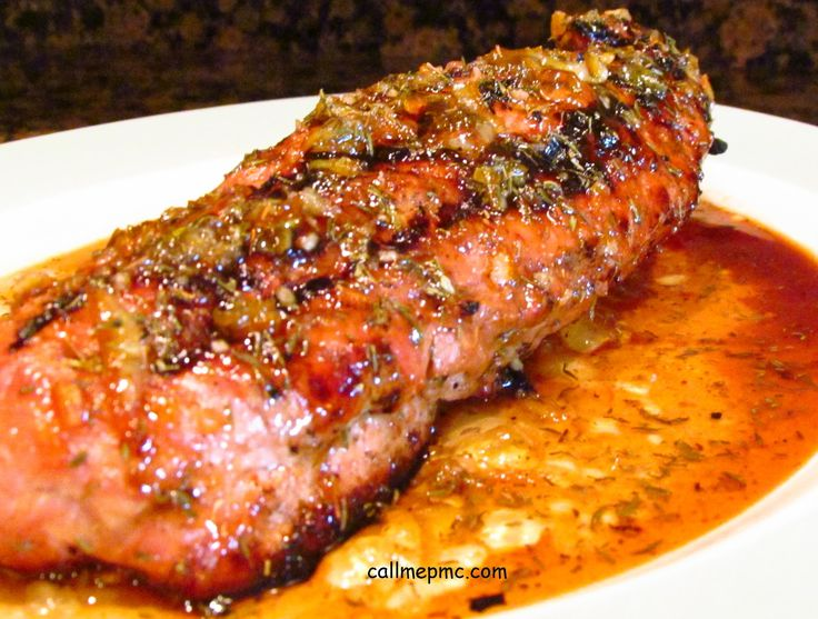Orange Marmalade Pork Tenderloin (from fellow Mississippi gal @Paula Jones CallMePmc.com