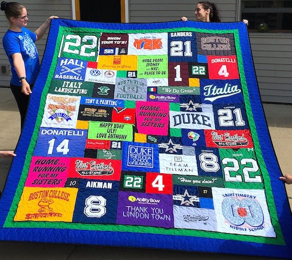 Too Cool T-shirt Quilts is now making pillows. But not just any old T-shirt pillows – we are making pillows that are  too cool .