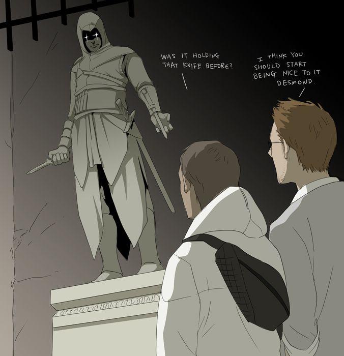 'Is it me or...' by doubleleaf.deviantart.com #fanart Assassin's Creed