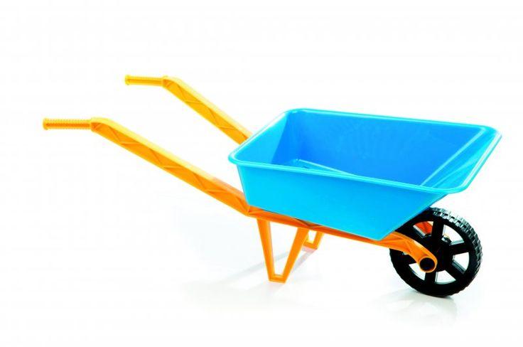Teddies Plastikowa taczka dla dzieci | MALL.PL