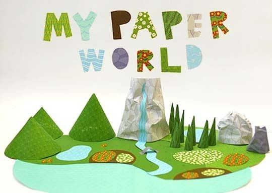 Printed paper toys