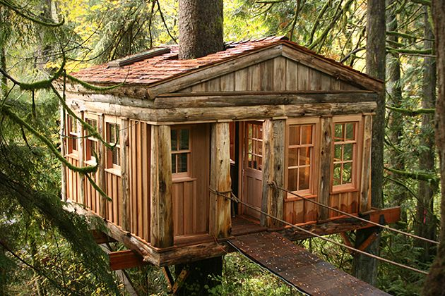 Explore the most amazing adult tree houses on the planet. Long live the childhood dream.