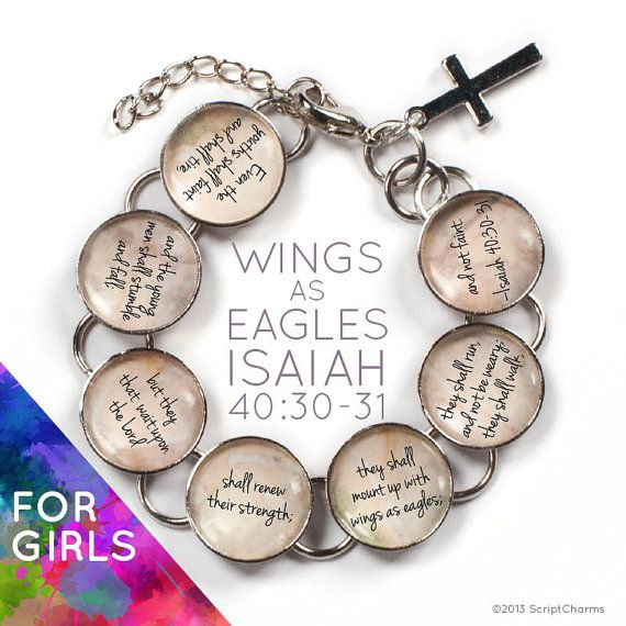 They Shall Mount Up With Wings as Eagles  Isaiah 40:30-31