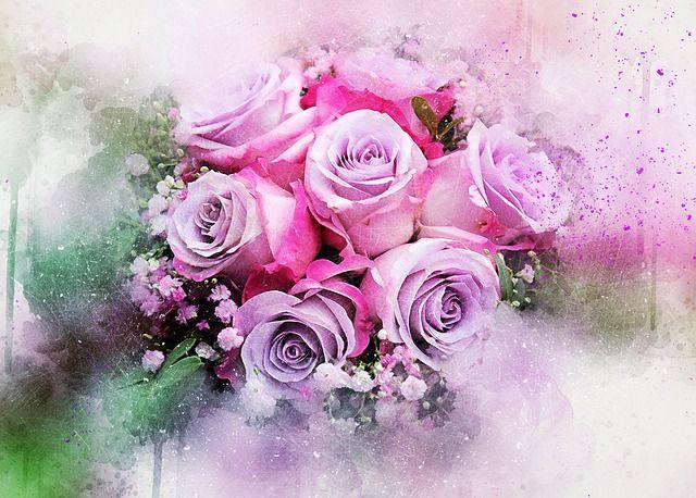 Free Image on Pixabay - Flowers, Roses, Bouquet, Art