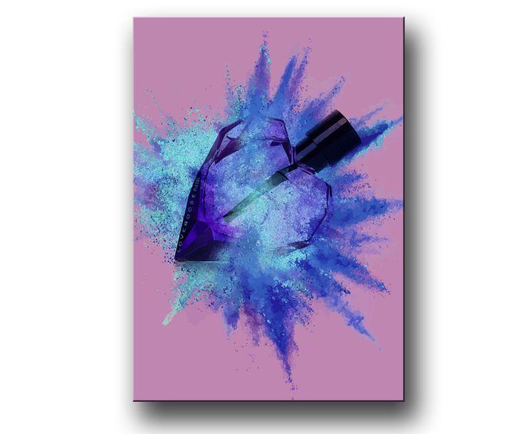 """""""Parfym Explosion"""" Fashion Tavla / Posters & Prints"""