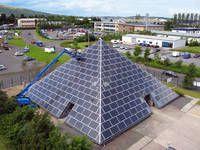 SRT/Renusol: Solar pyramid nominated for Solar Power Portal Award
