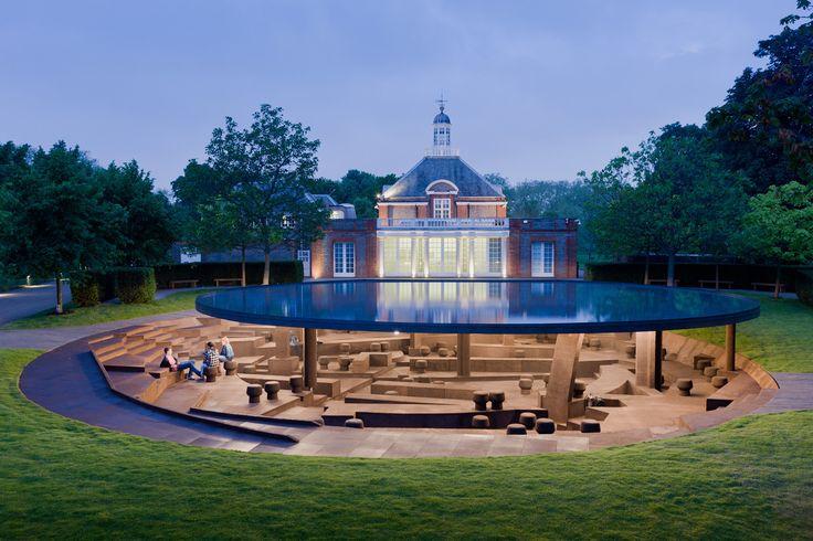 Round-Up: The Serpentine Pavilion Through the Years,Serpentine Pavilion 2012. Image © Iwan Baan