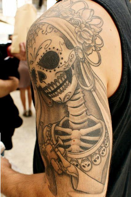 103 besten mexikanische tag der toten bilder auf pinterest. Black Bedroom Furniture Sets. Home Design Ideas