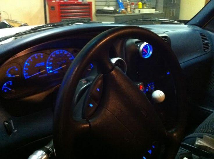 LED Custom interior for Ford Ranger