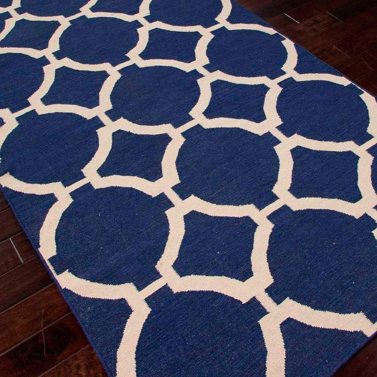 1000 images about navy blue and white for the home on pinterest indoor outdoor rugs wool and. Black Bedroom Furniture Sets. Home Design Ideas