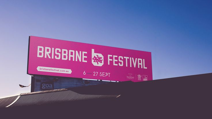 Brisbane Festival Billboard by Bigfish.tv