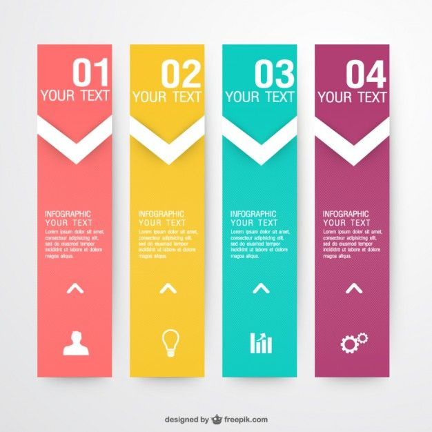 Vecteur infographie labels collection