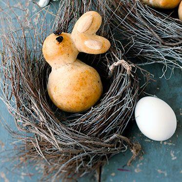 Rezept Osterhase Brunch backen | Ostern DIY Rezept Essen Brunch Dekoration Snack Geschenk-Idee