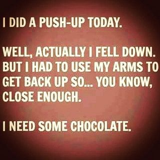 Hilarious Instagram quotes that might help you laugh your way to a workout.