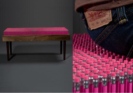 Weird Furniture: Pencil Bench