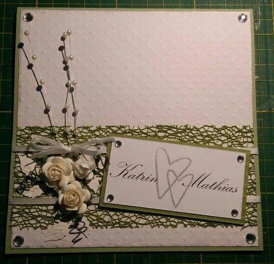 A weddingcard ❤