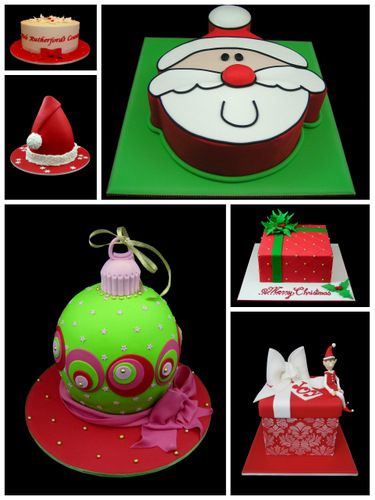 christmas cake ideas inspired by michelle cake designs
