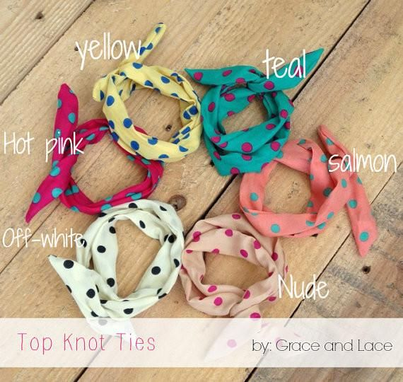 Grace and Lace Top Knot Ties * Limited colors * was $9 NOW $4.99 solemate-mt.com #solemateMT #topknotties #hairaccessories