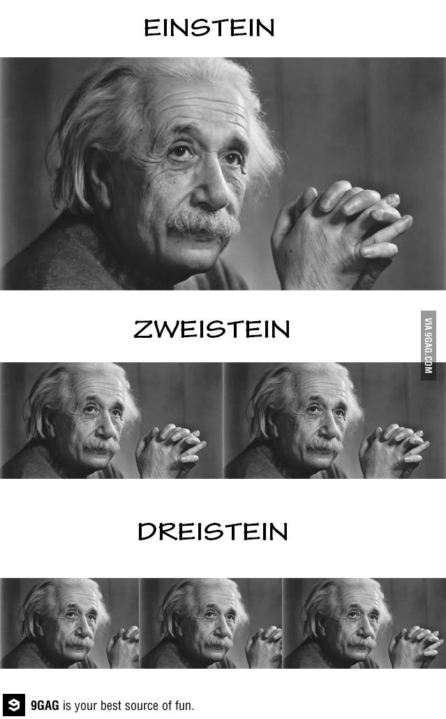 hehe... learn German...counting