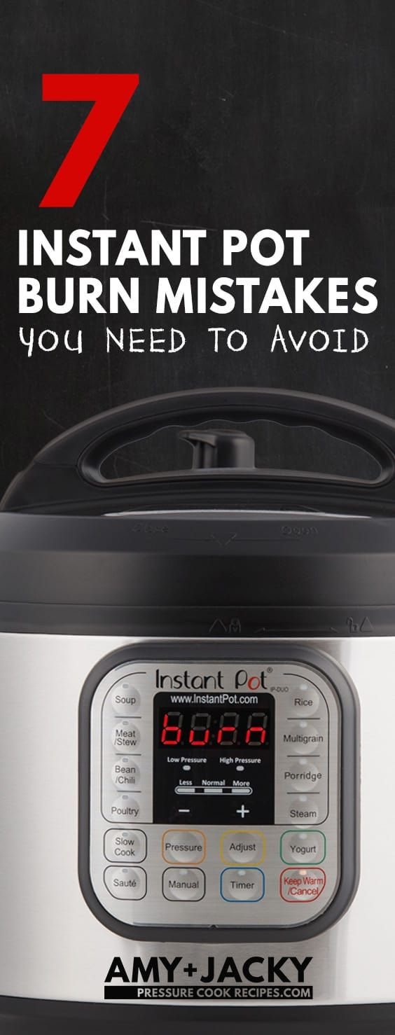 Need help with the dreaded Instant Pot BurnMessage or OverheatError on Instant Pot screen display? Don't panic! This guide explains what the Burn Code or Ovht Error means, why your Instant Pot says Burn, and tips on how to avoid the burn error in the future.