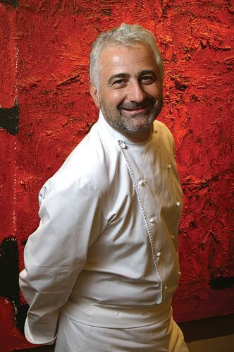 Guy Savoy, world-renowned French Chef. Head Chef/Owner Guy Savoy in Paris, Las Vegas and Singapore. Also owns Les Bouquinistes, Le Chiberta and L'Atelier Maître Albert.