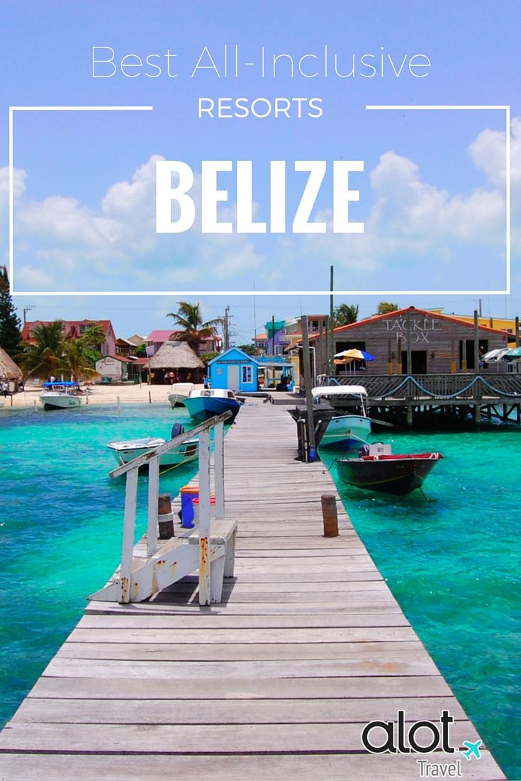 There's a focus on going and doing activities when visitors come to Belize. You can certainly lie on a beach sipping daiquiris if you want, but most resorts here tend to position their all-inclusive packages less as an indulgence, and more as a convenience.