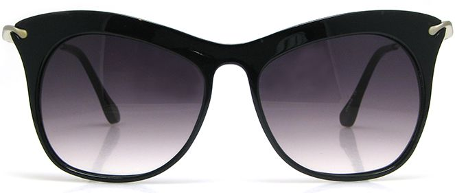 Stylish and stand out, these frames are feminine but feisty and will definitely announce your status as a glamour puss with discerning taste. The delicate arms contrast perfectly with the bold, stylised frames and the pink hued lenses lend a playful touch to an otherwise sleekly sexy design. Fairfax will go like a dream with a super-chic skirt suit or strapless sundress, and would be the perfect accompaniment to a day at the races or an open air theatre performance.