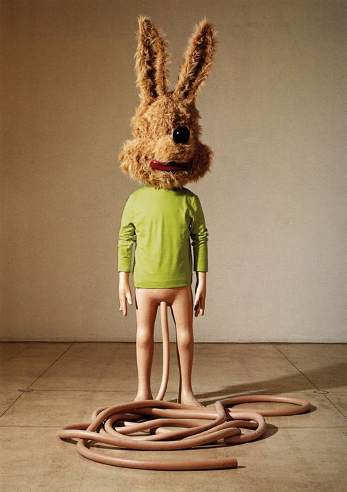 artist Paul McCarthy makes another sculpture to freak me out.