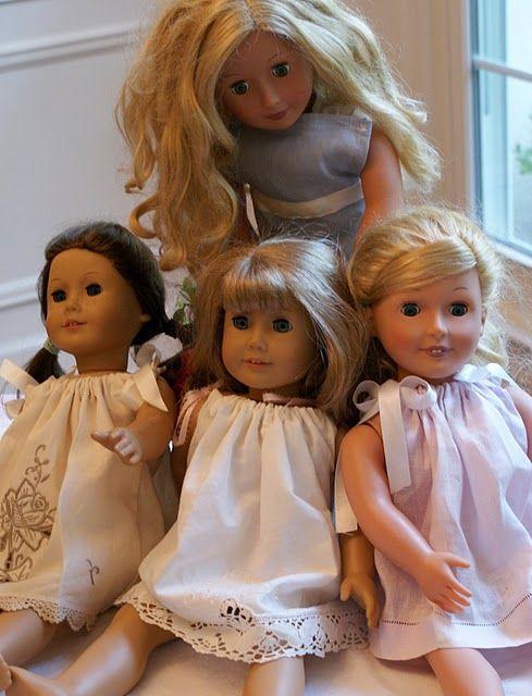 Pillowcase dresses for dolls made from tea towels!  Too much cuteness.Pillowcase Dresses, Teas Towels, Sewing Projects, Tea Towels, Teas Sewing, Girls Dolls, Dolls Clothing, Pillowcases Dresses, American Girls