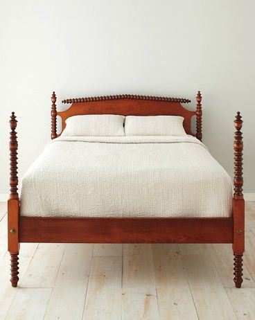 I'm sensing a new obsession rapidly developing…. Garnet Hill Farmhouse Spool Bed ↑ Land of Nod Jenny Lind Nightstand ↑ Layla Grayce Spool Chair ↑ Wisteria Turned Wood Dining Chair ↑ Jo…