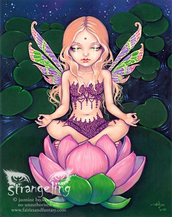 Lotus Fairy by Jasmine Becket-Griffith