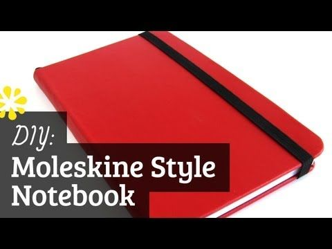 """In this tutorial, I'll show you how to make a Moleskine style hard cover notebook.    To learn how to make the Moleskine style soft cover notebooks, check out this tutorial -  http://youtu.be/RAg_N-QceNM    FYI, I use a 1/2"""" corner..."""
