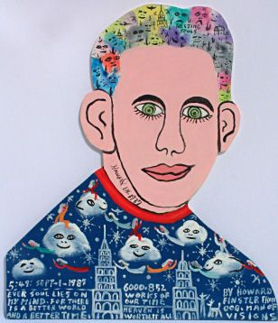 Howard Finster Howard Finster self portrait Art Inspiration Pinterest