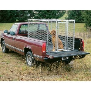 Midwest Homes For Pets Chain Link Portable Dog Kennel