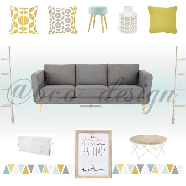 71 best salon bleu pastel jaune moutarde images on pinterest mustard yellow and home ideas. Black Bedroom Furniture Sets. Home Design Ideas