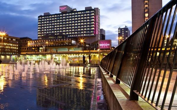 One Night Break at Mercure Manchester Piccadilly Hotel - Experience the pinnacle of modern comfort at The Mercure Manchester Piccadilly.