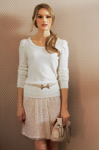 Mademoiselle R, collection Automne-Hiver 2013 I love la redoute, and this outfit is so cute!